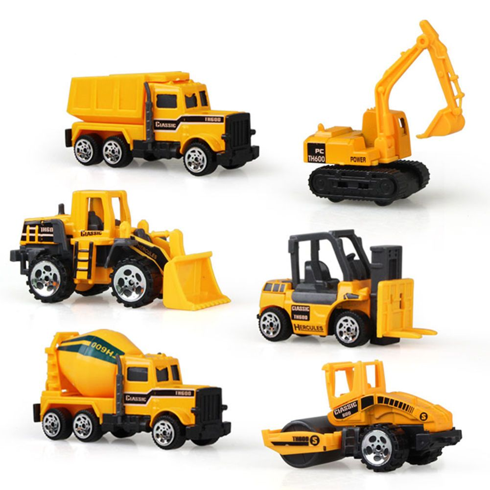 Car toys for girls   Pcsset Novelty Diecast Construction Truck Car Model Toy