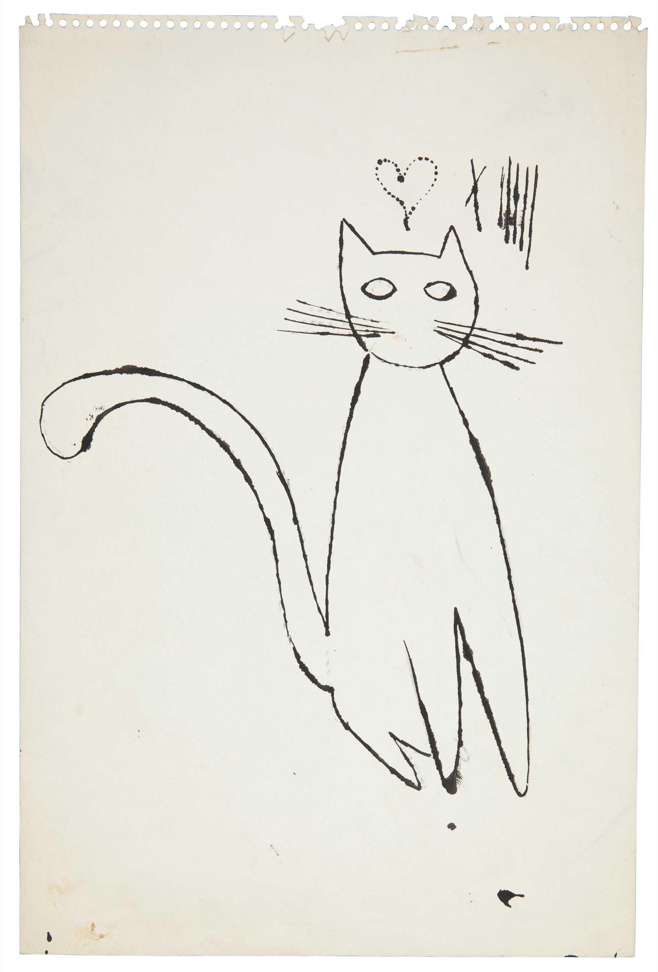 Cat | Gato, Grabado y Pintor