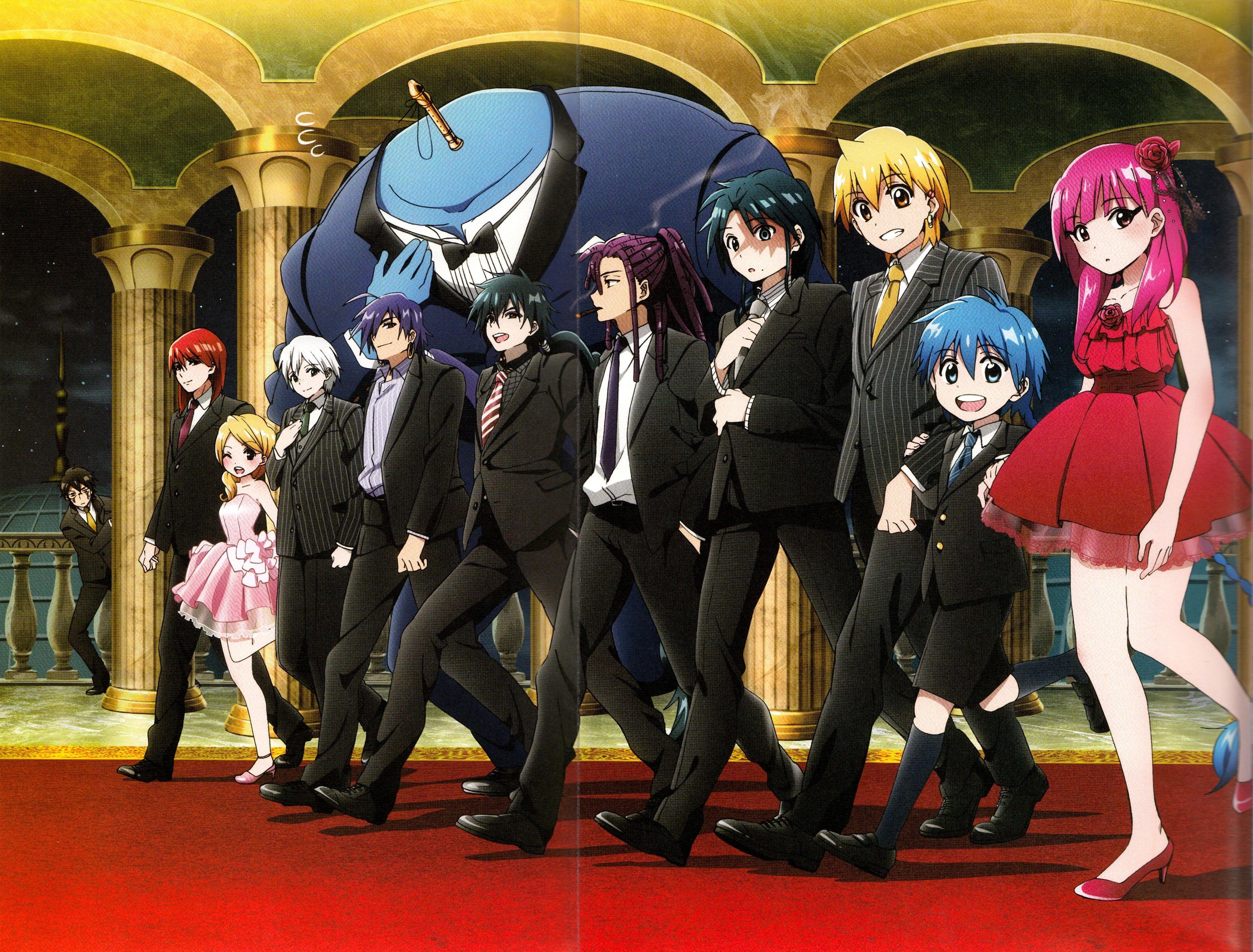 MAGI The Labyrinth of Magic (With images) Anime magi
