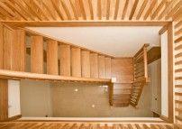 Oak Open Riser Slender Spindles Like Attic Stairs Oak Stairs Stairs