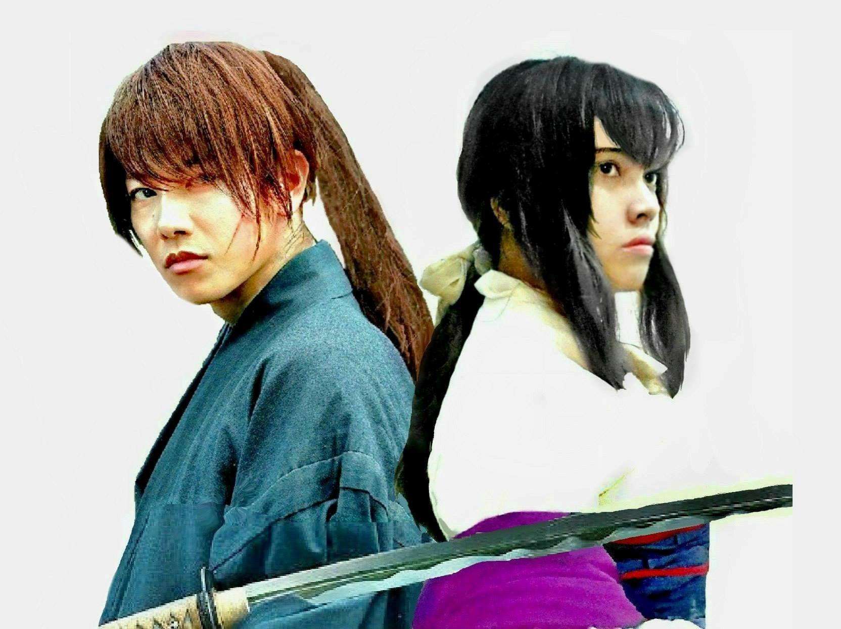 Rurouni Kenshin 4 Kenshin and Tomoe るろうに剣心 4 剣心 と