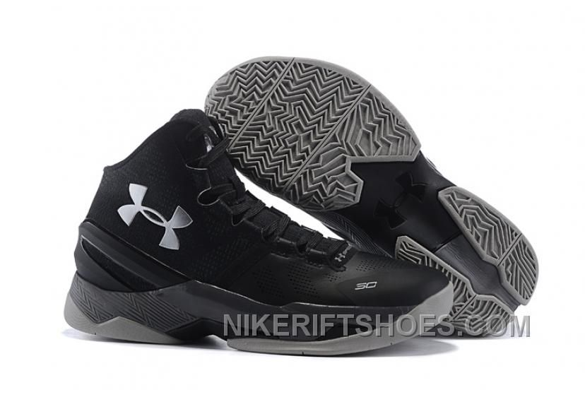 "05a055a4e786 Discover the Top Deals Under Armour Curry 2 ""The Professional"" Black Grey  Silver Shoes For Sale group at Footseek. Shop Top Deals Under Armour Curry 2  ""The ..."