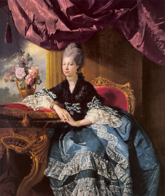 1771 - Queen Charlotte by Zohan Zoffany
