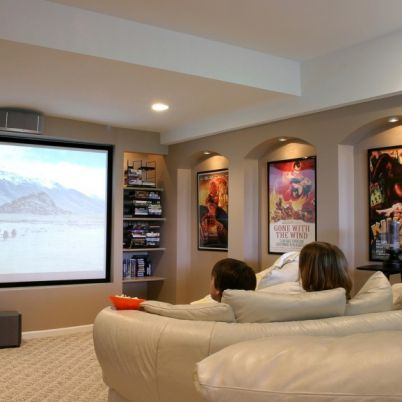 Finished Basements Home Theater Rooms Media Room Design Home Theater Design