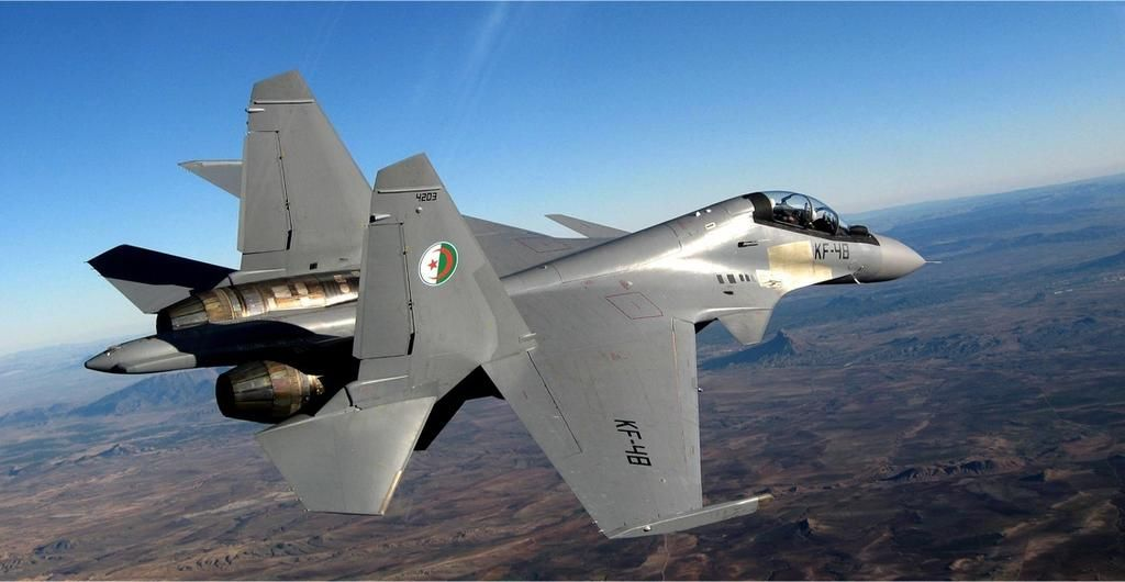 Resultado de imagen de Su-30MKI algeria