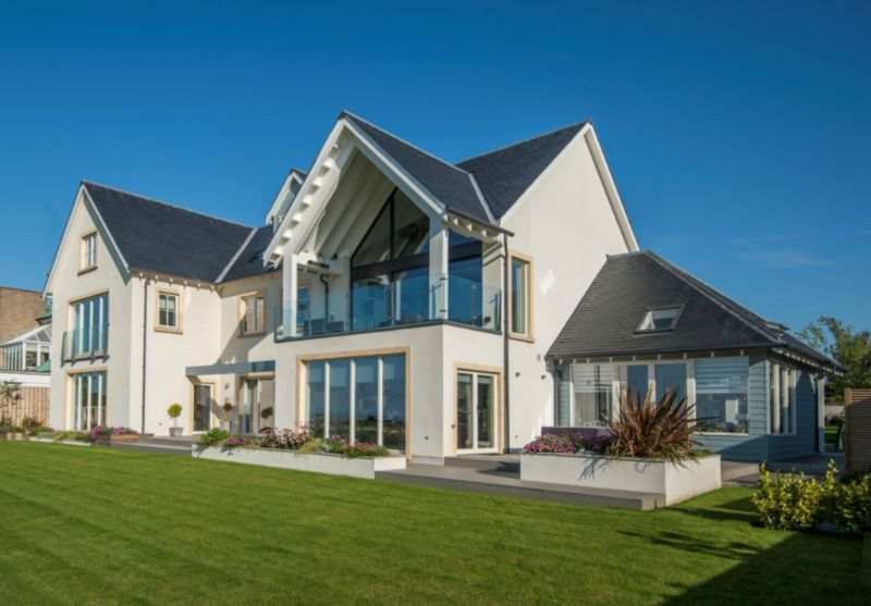 Timber Frame Self Build Houses Images Plans And Design