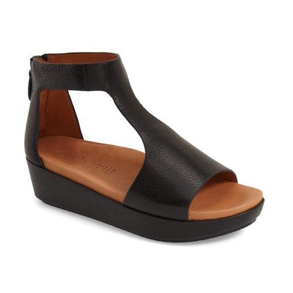Gentle Souls Jefferson Platform Sandal 2 Heel Leather Platform Sandals Womens Sandals Platform Sandals