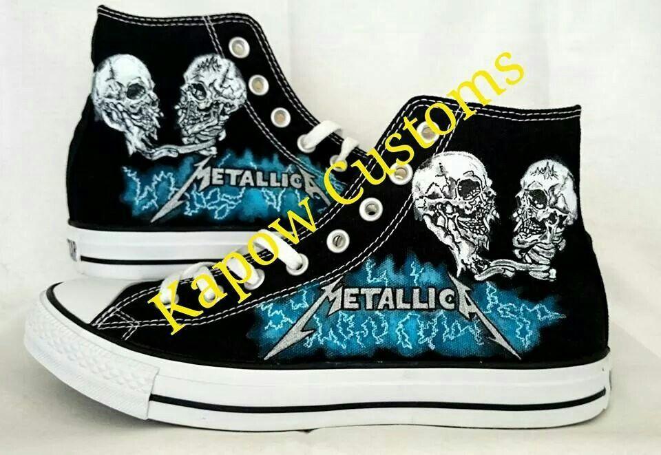 Metallica customer commission Converse  2a790482a