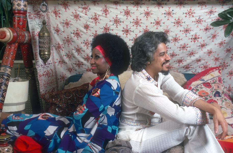 Celia Cruz and Johnny Pacheco.