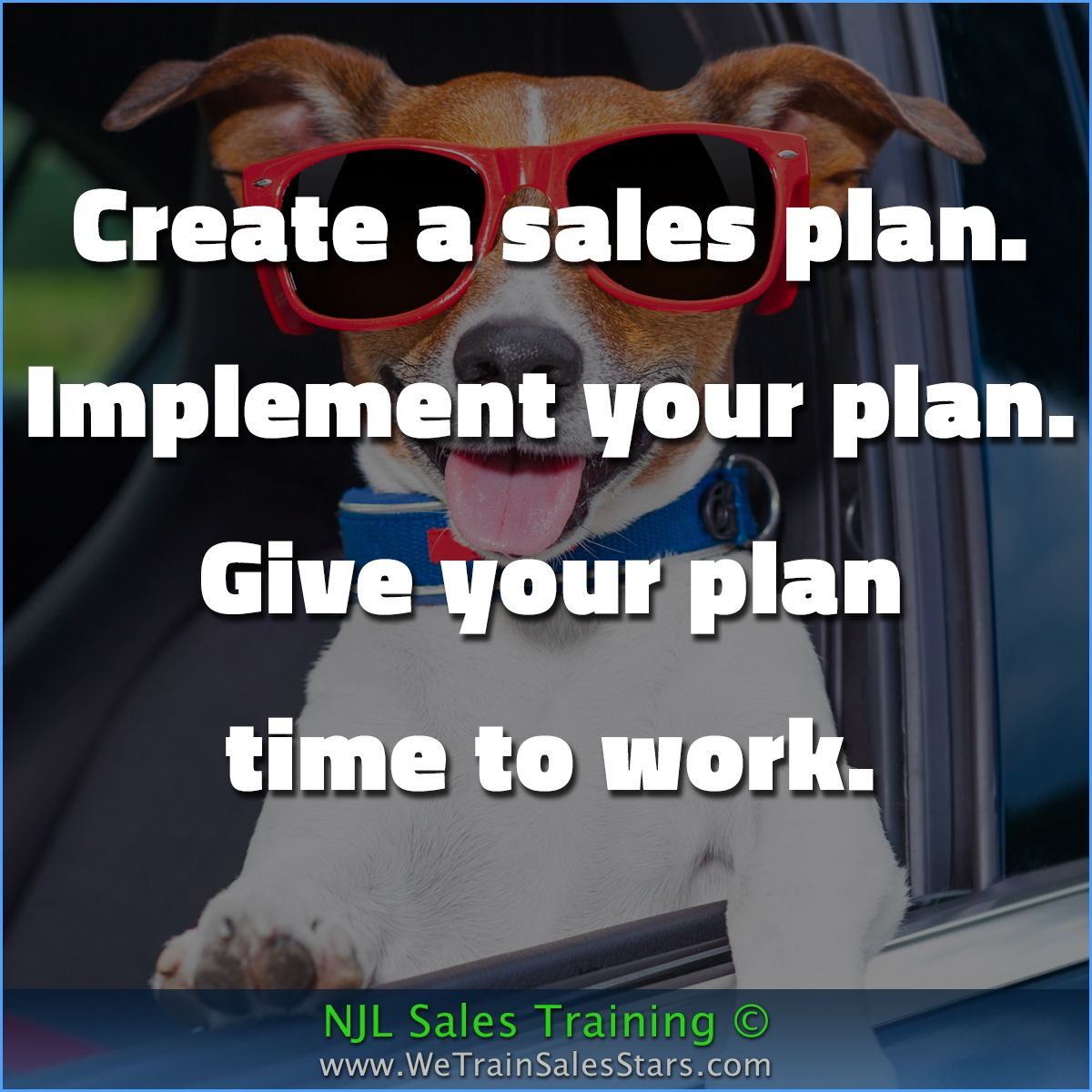 Create A Sales Plan Implement Your Plan Give Your Plan Time To