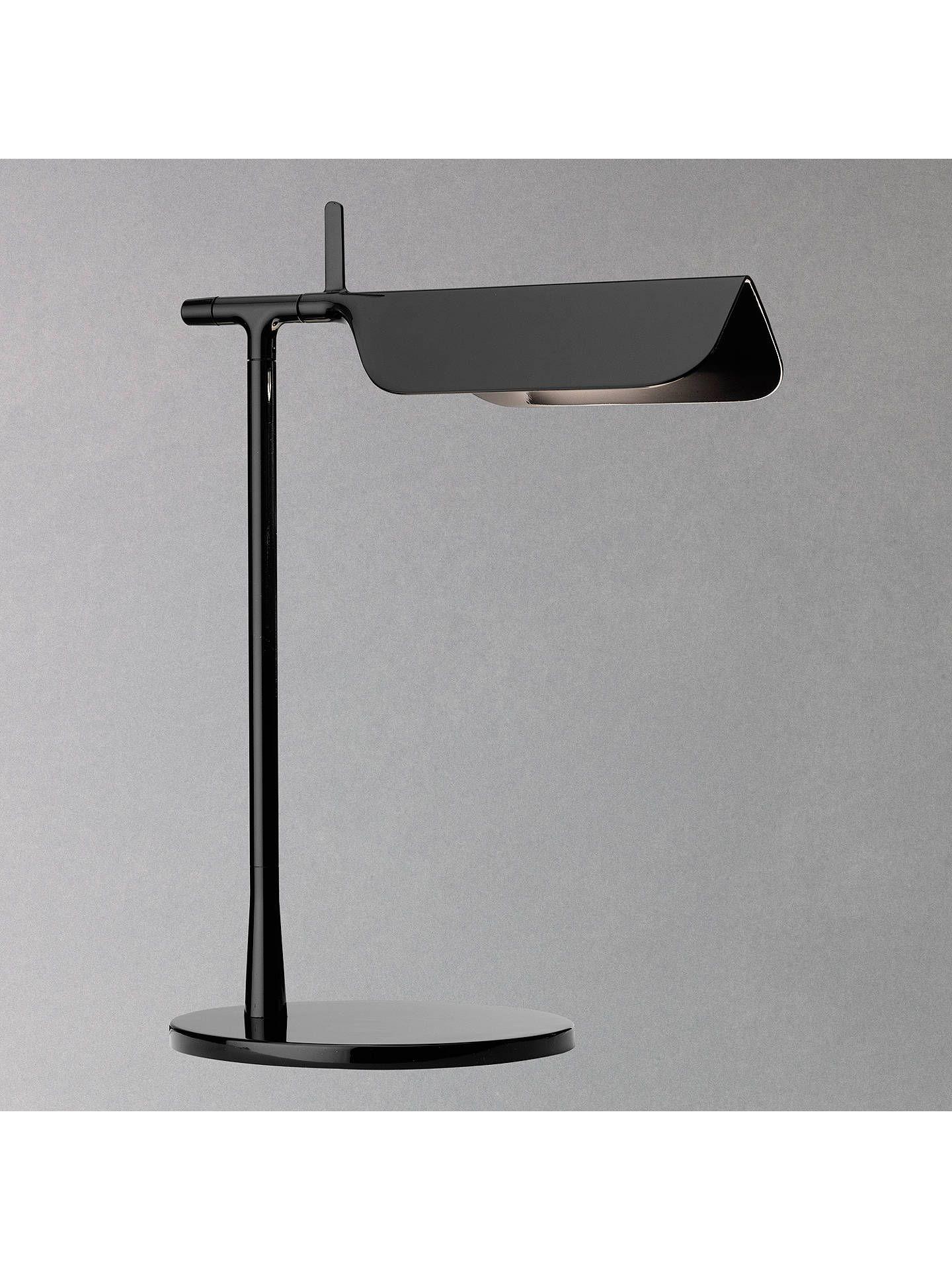 Buyflos tab led desk lamp black online at johnlewis lamparas