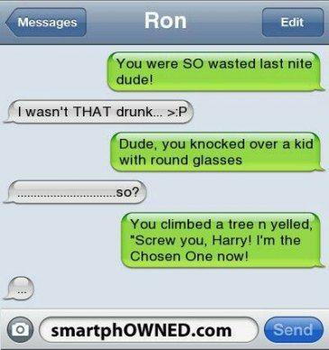 Super Funny Texts Messages Harry Potter 64+ Ideas