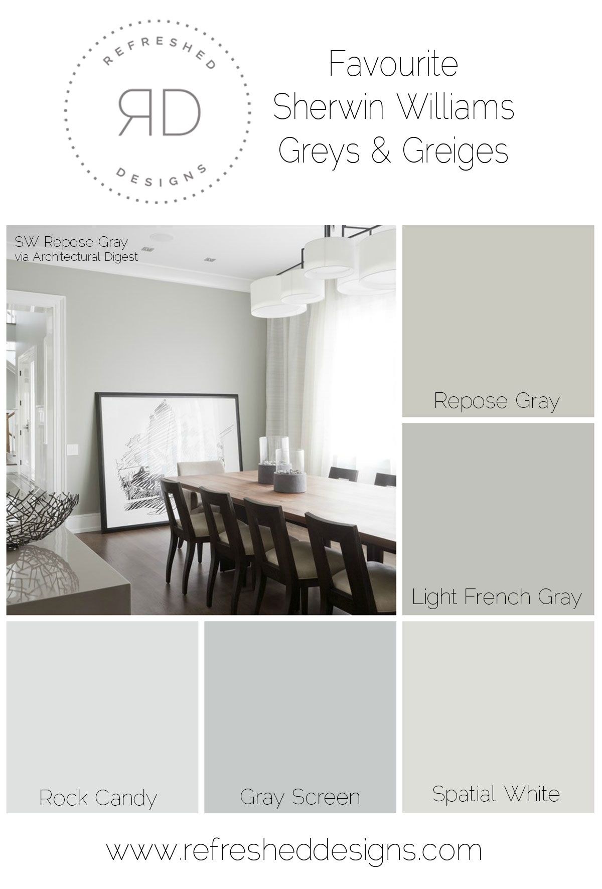 Find It The Perfect Grey Paint That Will Outlast The T
