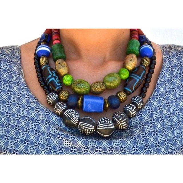 MINT bijoux  get yours today by emailing info@dakarboutique.com #fashion #style #madeinsenegal #color #tribal #art #beads #mintbydiarrabousso #dakarboutique #dakar #senegal #africanfashion #accessories #bijoux
