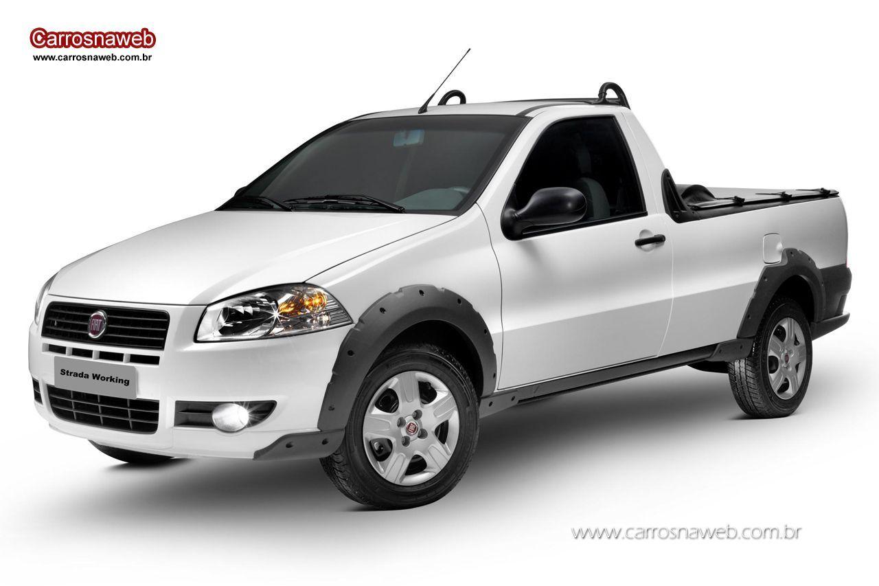 Fiat Strada Trekking 1 6 16v Cs 2013 Em 2021 Fiat Strada Porta Malas Cambio Manual