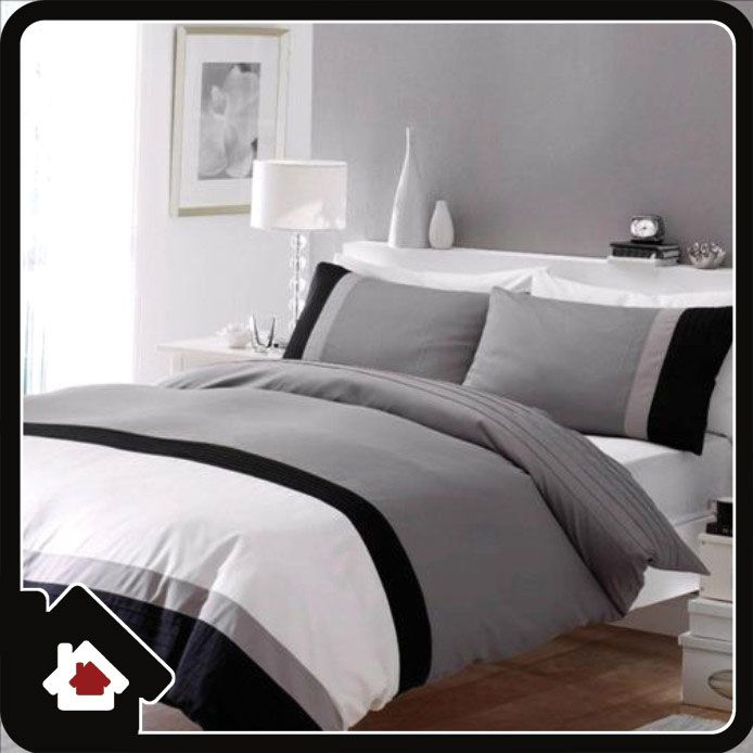 grey duvet covers duvet cover king size black white grey design by catherine. Black Bedroom Furniture Sets. Home Design Ideas