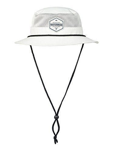 a2294aa97d10ac ... hot quiksilver waterman mens airflow bucket hat bone airflow bucket  5c1b4 256e6