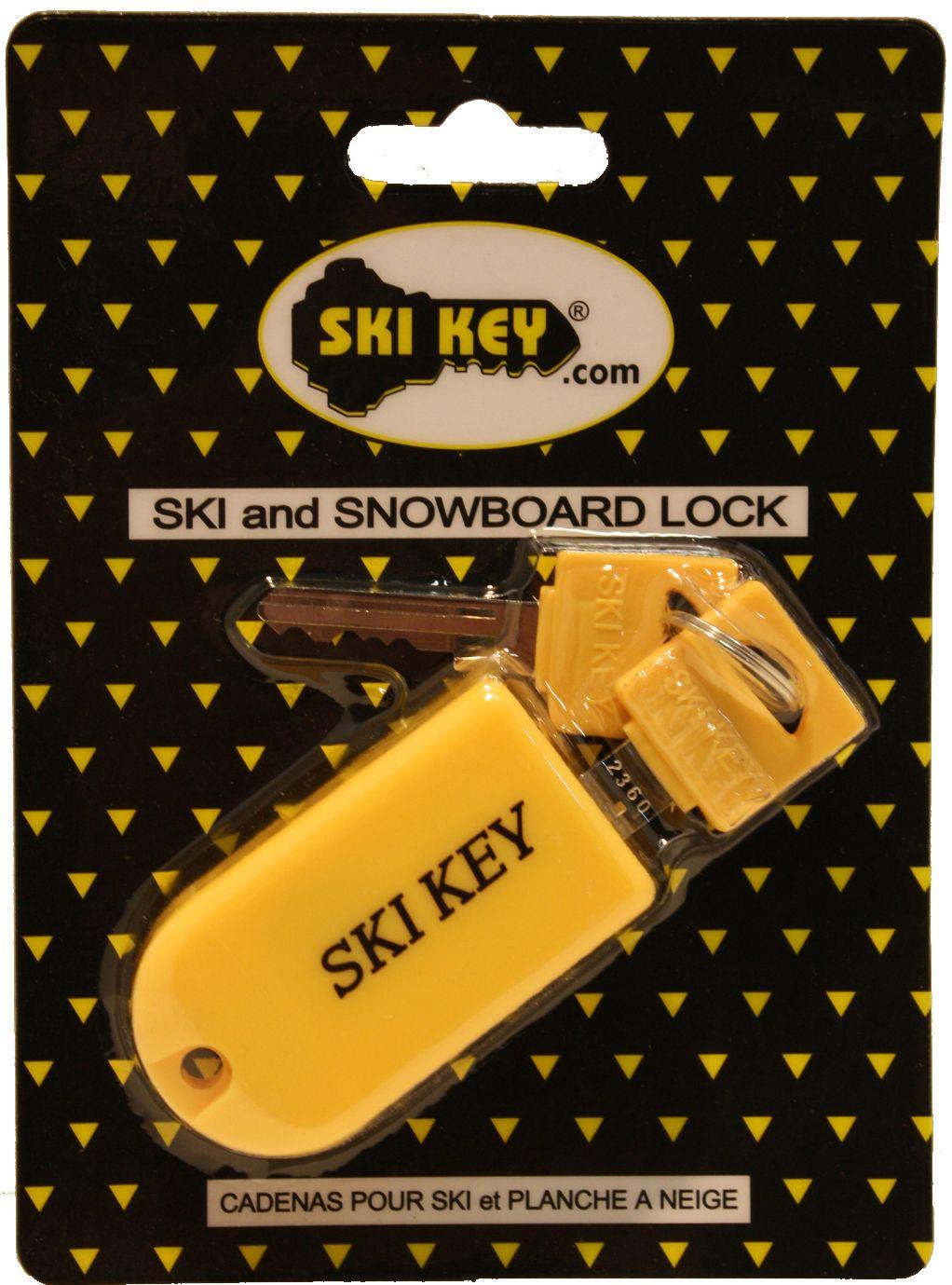 Yellow Lock Ski Locks Ski And Snowboard Snowboard