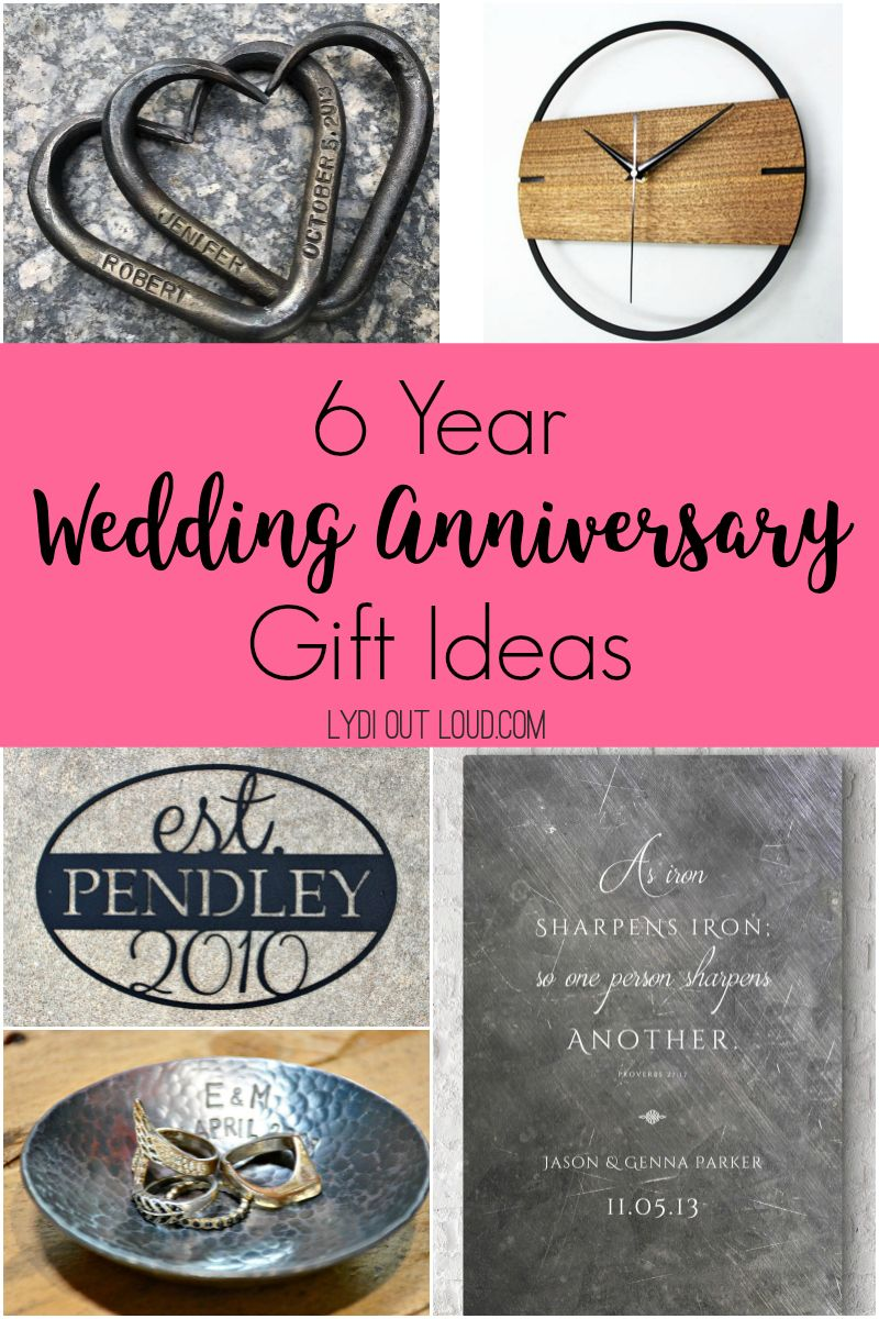 Traditional 6 Year Iron Anniversary Gift Ideas Lydi Out Loud In 2020 Iron Anniversary Gifts Anniversary Gifts 6th Anniversary Gifts