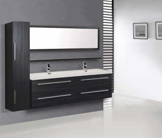 2 modèles de vanités de luxe pour salle de bains cabinets