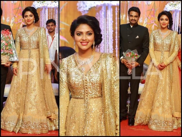 South Indian Wedding Reception Dresses