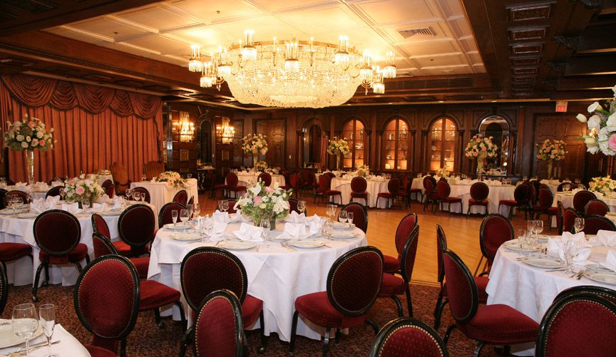 Renewing Your Vows Venue West Orange: Our Classically Designed Banquet Rooms With Stunning