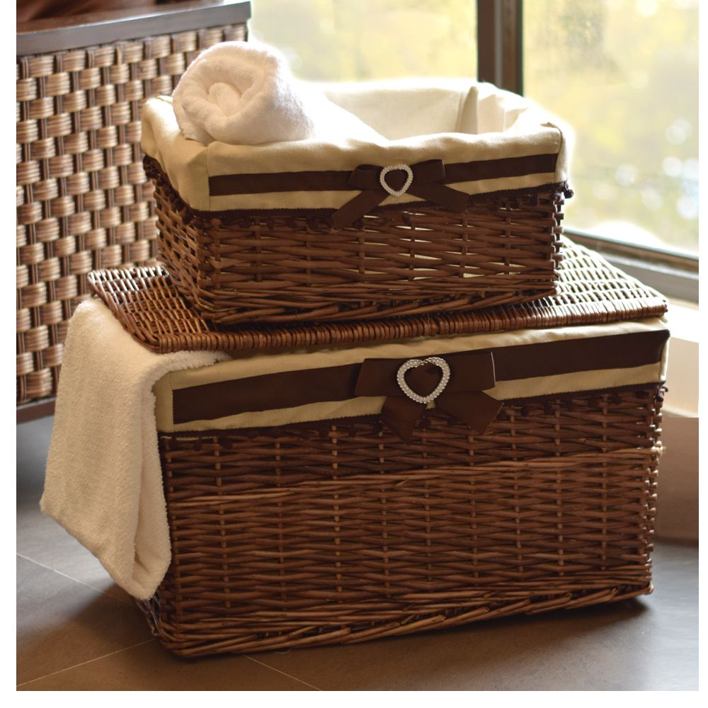 Our Handwoven Bamboo Laundry Basket Made In Natural Hues Gives A Warm Character To Any Space Handwoven Around A S Large Baskets Basket Bamboo Basket
