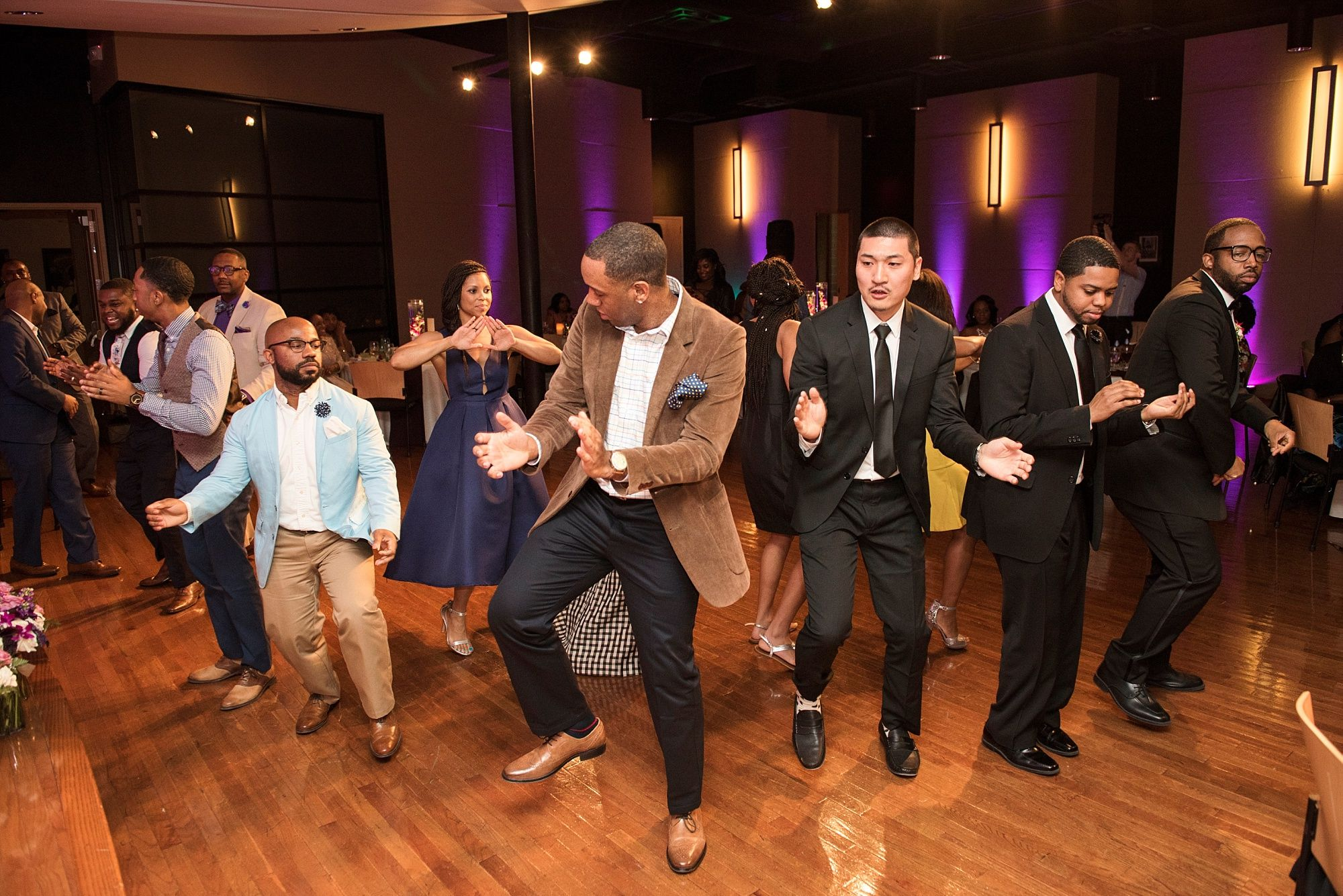 Urban Nashville Wedding At W O Smith Music School Fraternity Sorority