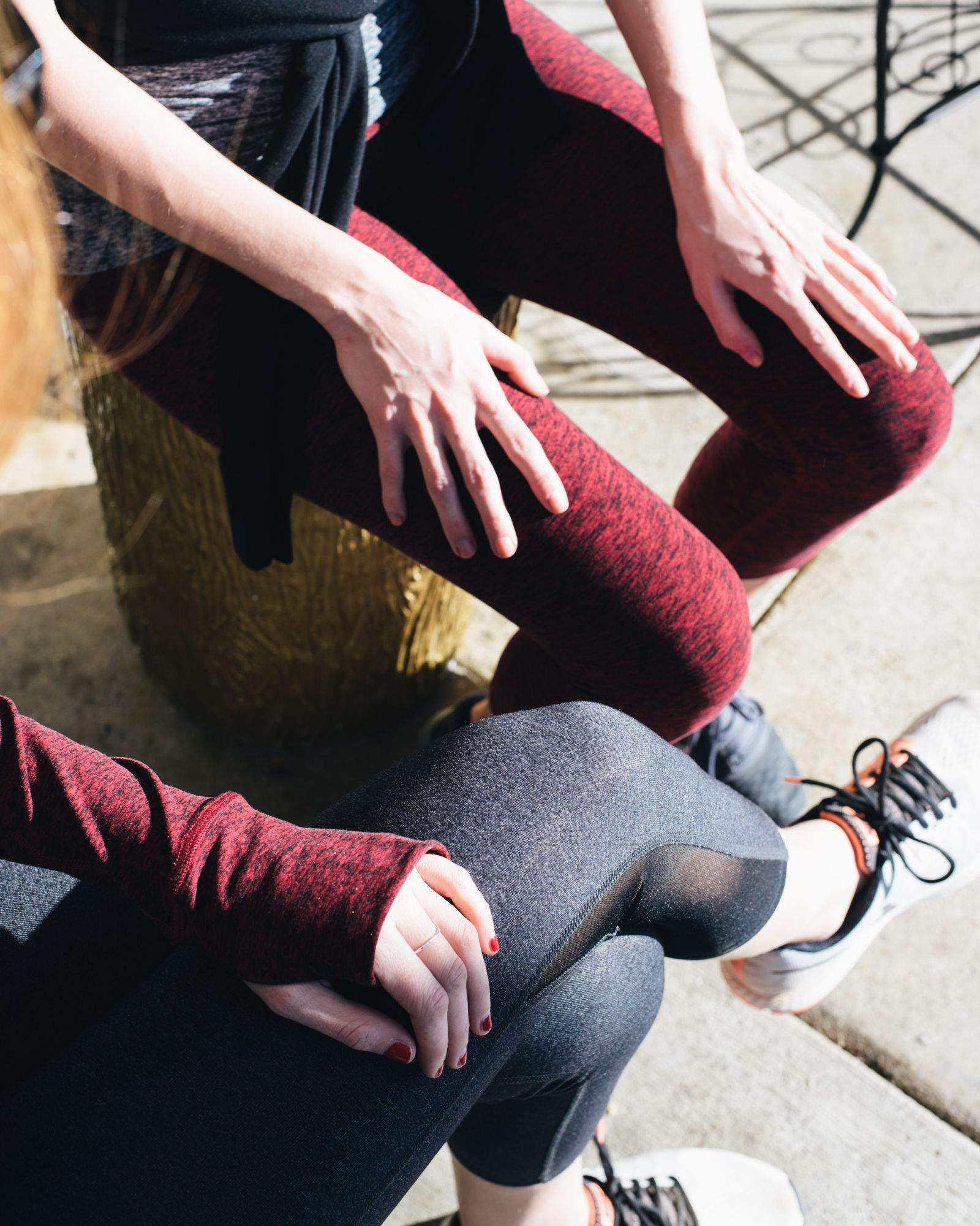 Beyond Yoga // Yoga // Leggings // Sneakers // Outerwear // Workout