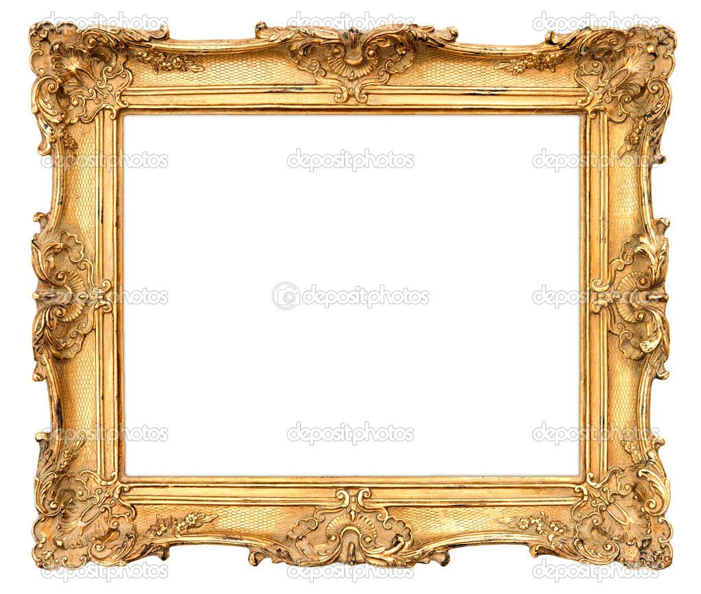 Gold Frame Stock Photos Illustrations And Vector Art