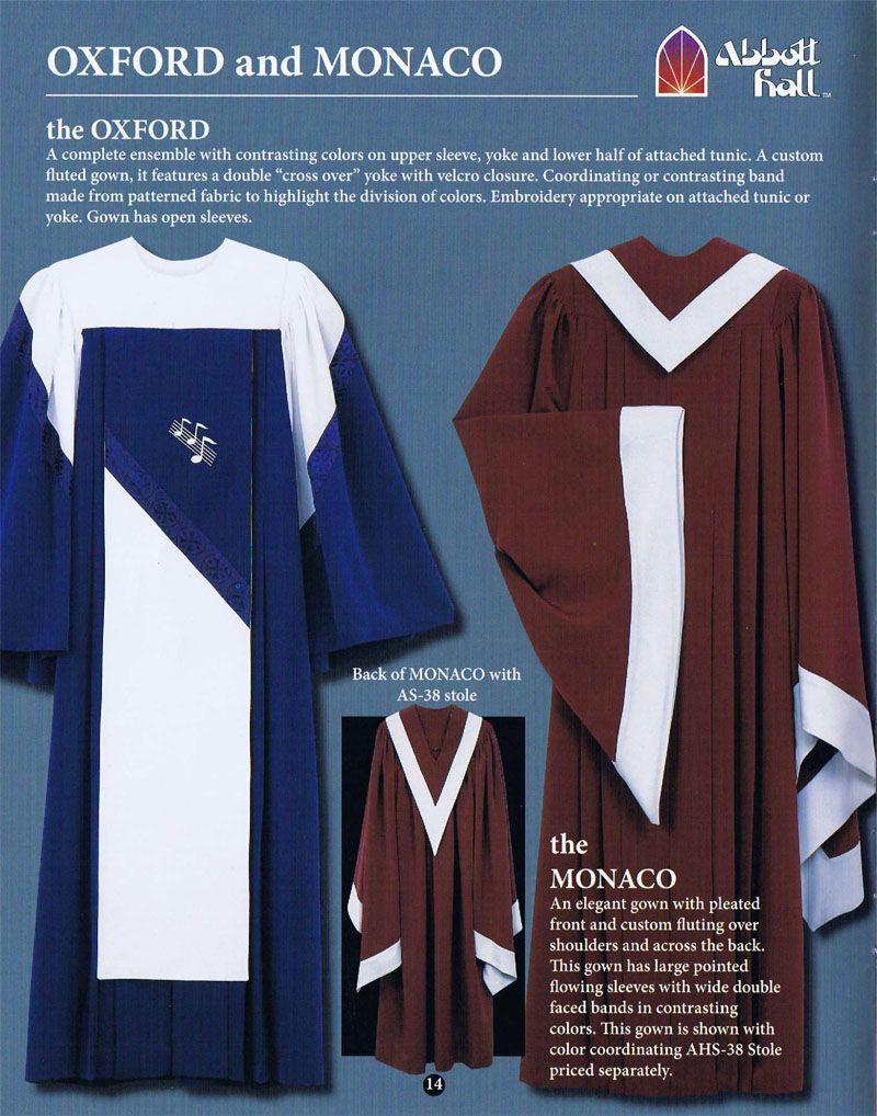 Adult Choir Gowns | choir robes | Pinterest | Choir, Robe and Oxfords