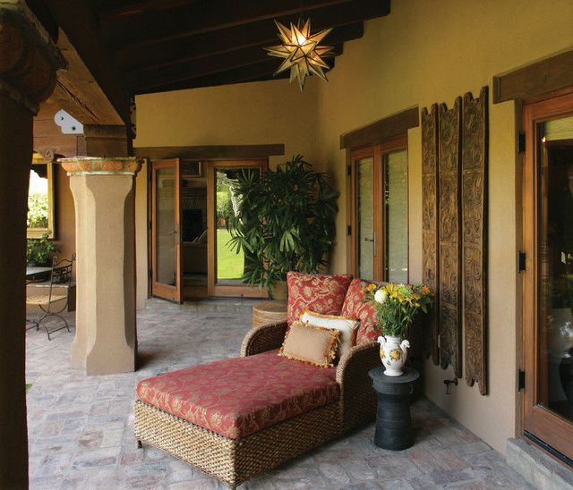 Classic Patio Ideas In Mediterranean Style: Spanish/Mexican Colonial Mediterranean Patio Need To Find