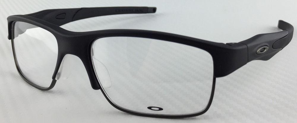 lunettes de vue oakley crosslink switch satin black