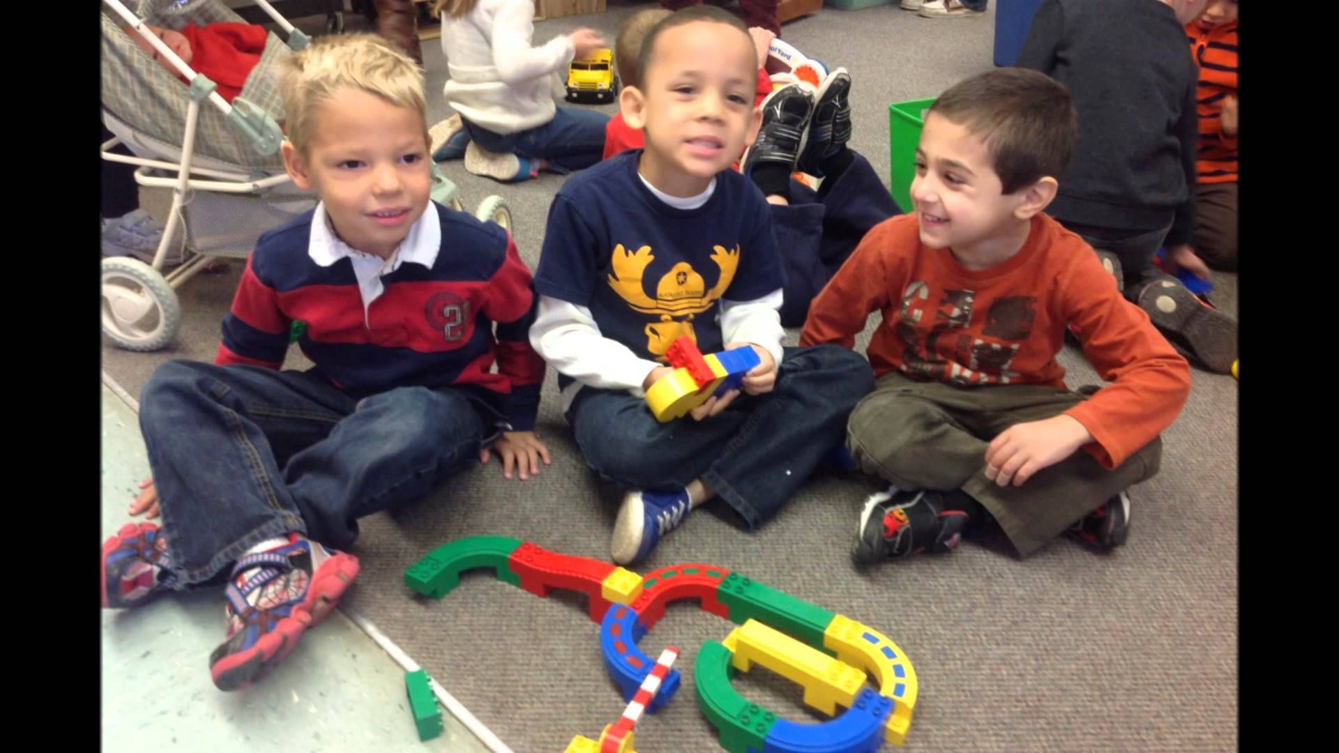 Kindergarten Being A Good Citizen Friend
