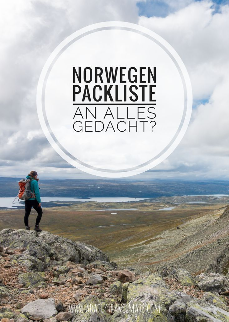 Photo of The Norway packing list: thought of everything? | a daily travel mate