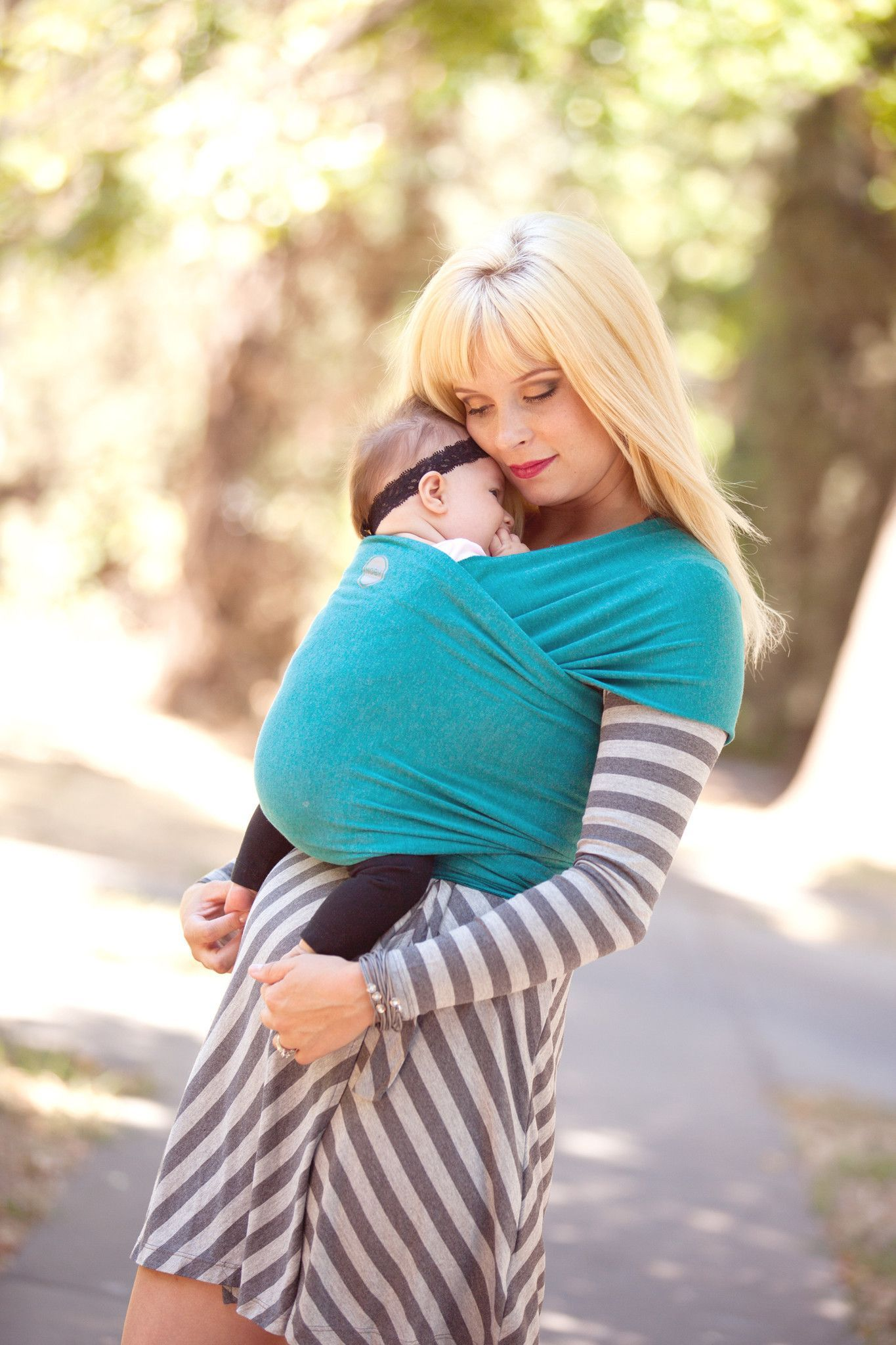 2eb49578ff4 finds new Best Buy baby slings – Which  Moby Bamboo Wrap - Teal