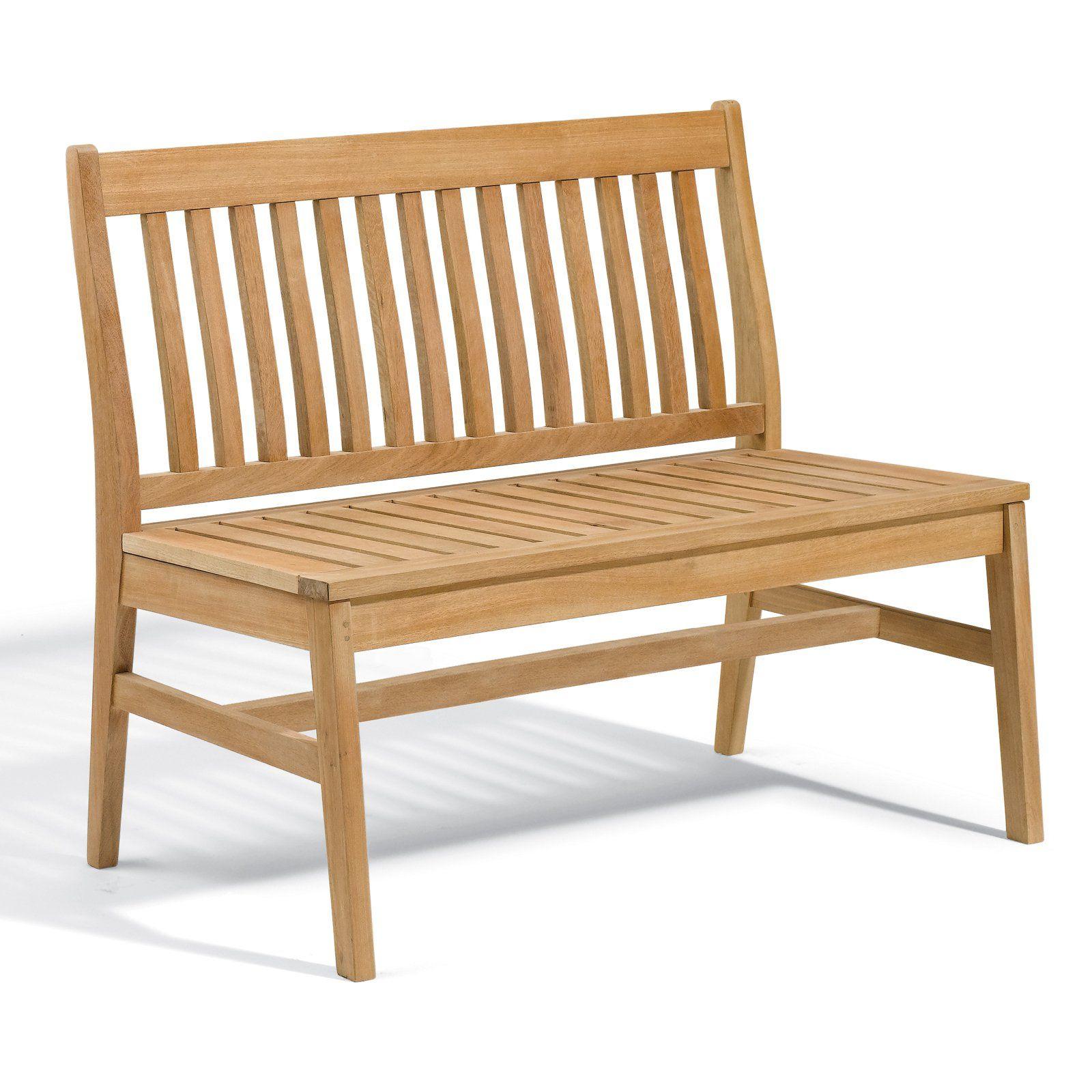 Outdoor Oxford Garden Wexford 43 in. Shorea Wood Bench ...