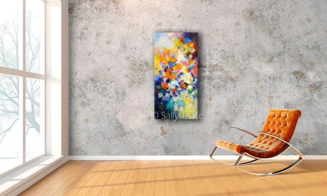 Abstract art for sale, fine art giclee prints on stretched