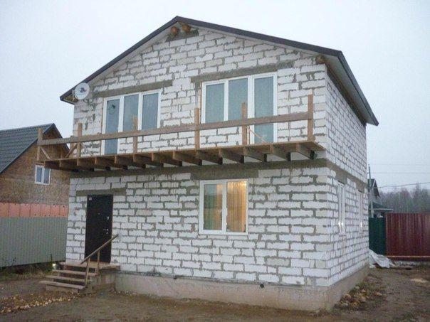 дом из блоков плюсы и минусы