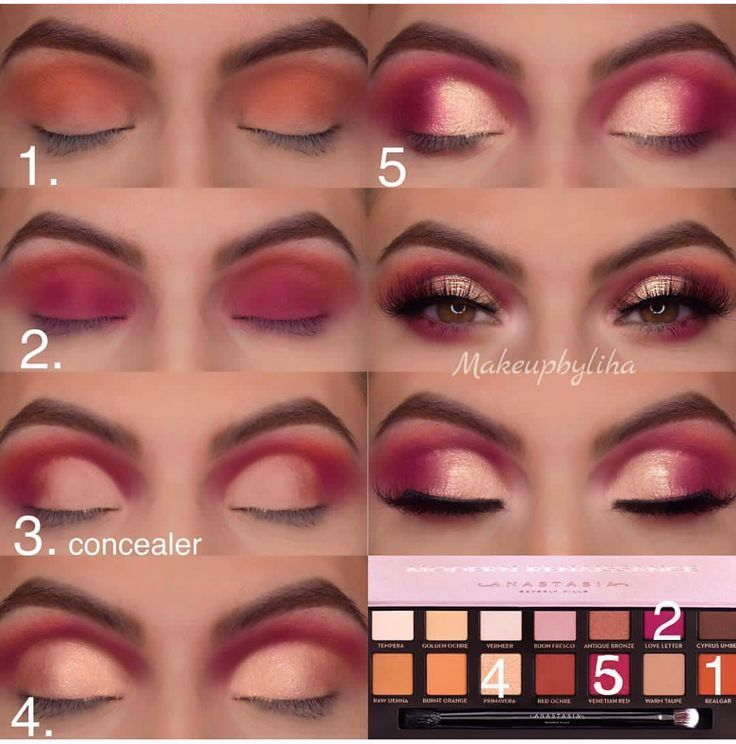 Photo of ABH Modern Renaissance Eye Makeup Palette Step by Step Eye Makeup … – Diana