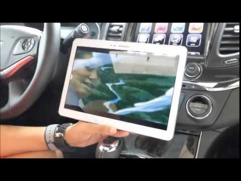 Chevy GM OnStar Demonstration by Traveling Moms for