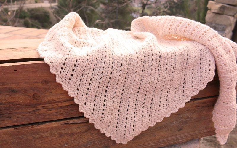 Chal vintage crochet - Vídeo Tutorial (Shawl vintage) <3 | Lanas y ...