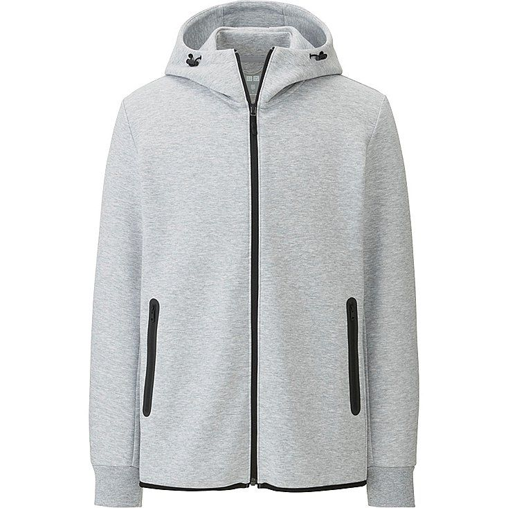 MEN Dry Stretch Sweat Full-Zip Hoodie | UNIQLO