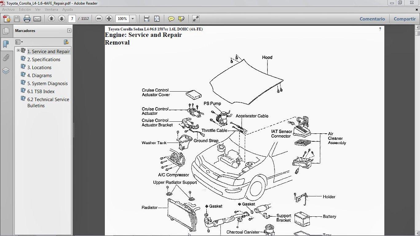 check engine light toyota corolla 1997 user manuals