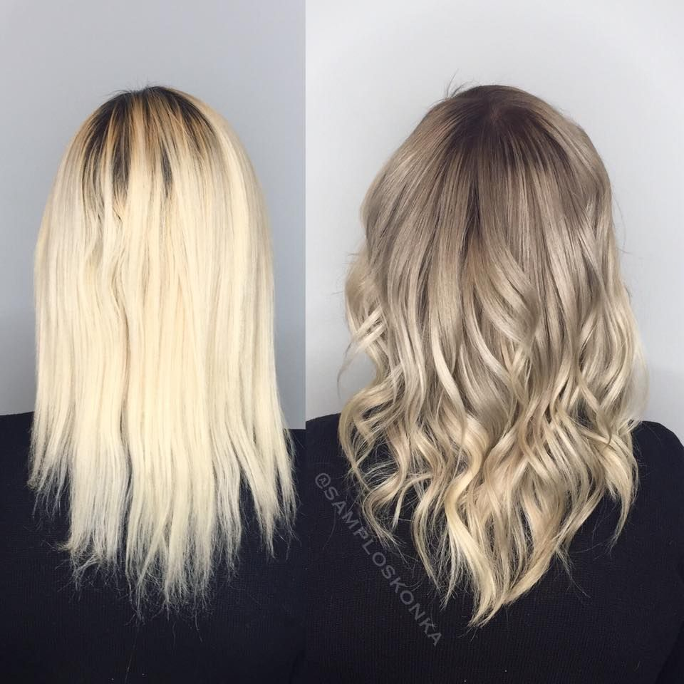 A Perfect Solution For An Over Processed Blonde Looking For A