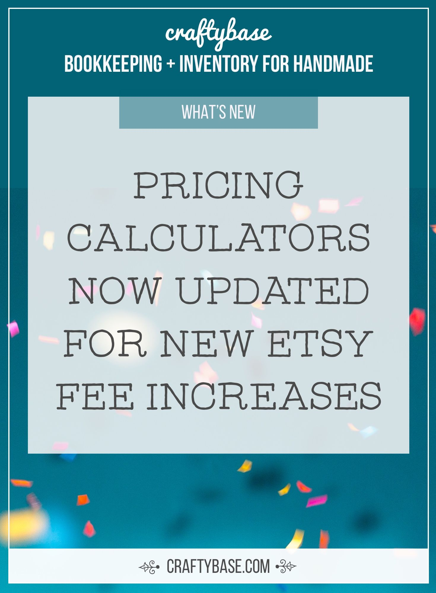 pricing calculators now updated for new etsy fee increases in 2018
