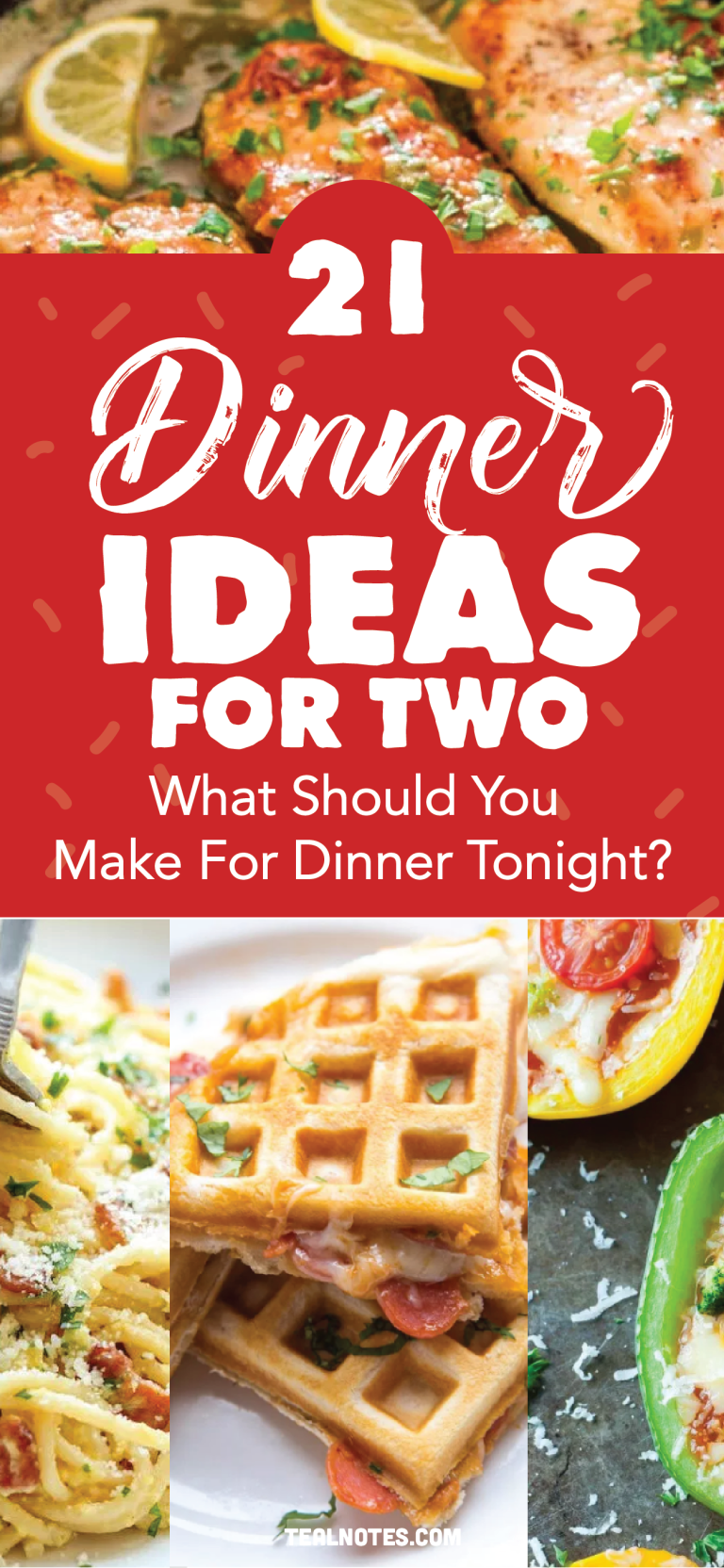 31 Dinner Ideas For Two: What Should I Make For Dinner? Yummy Recipes You Have To Try! images