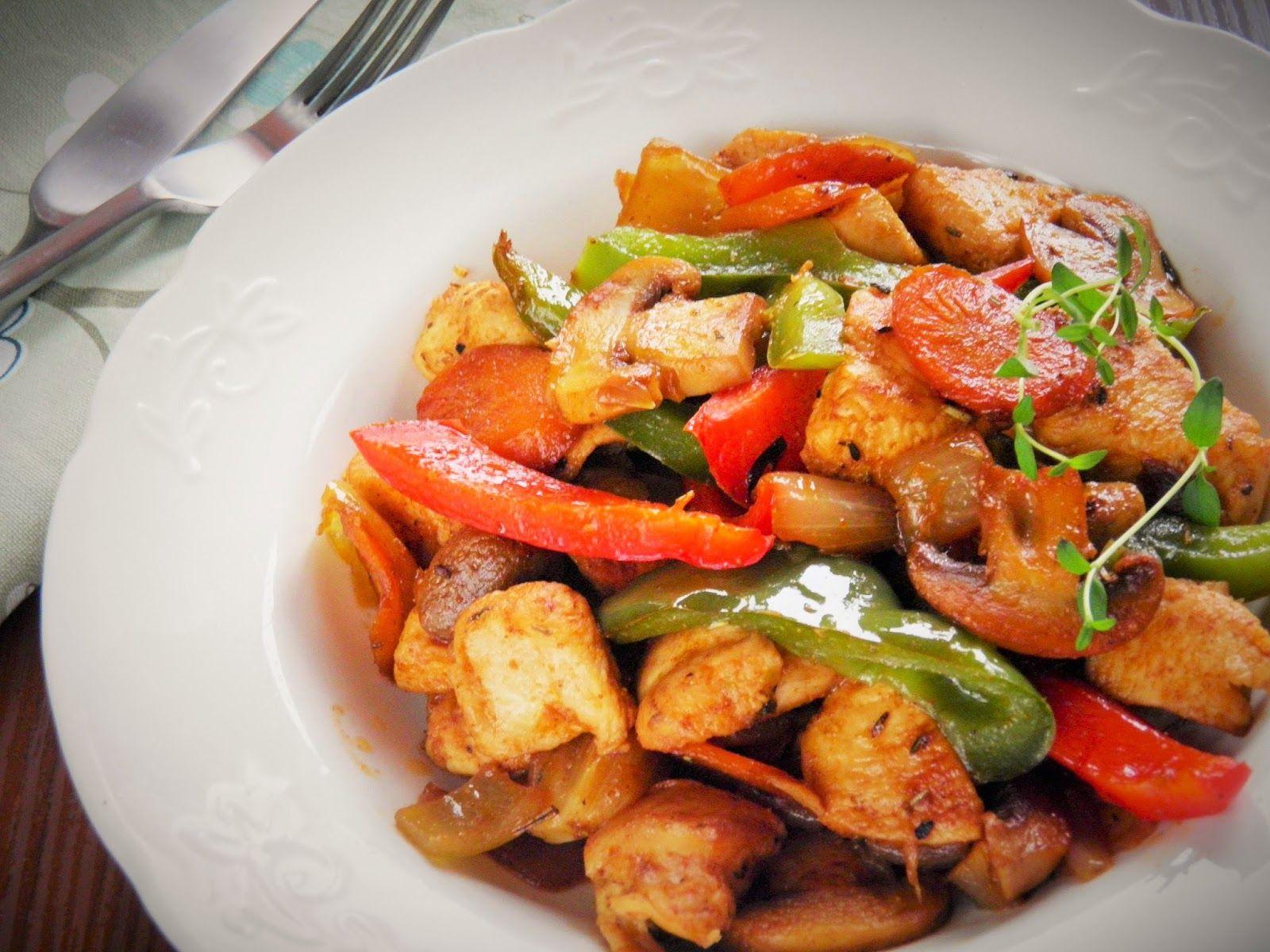 Sio-smutki: Kurczak z warzywami - szybki obiad