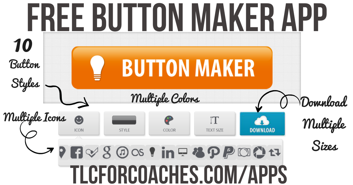 Free Button Maker App Free online business tools