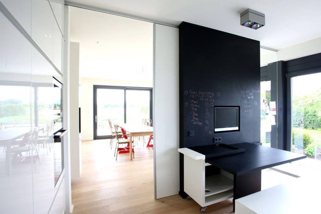 Rozwiazania Na Drzwi Przesuwne Miedzy Kuchnia A Salonem Szukaj W Google Home Room Interior Inspo